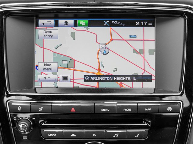 2015 Jaguar XJ Prices and Values Sedan 4D V8 Supercharged navigation system