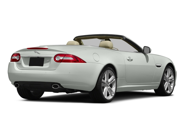 2015 Jaguar XK Prices and Values Convertible 2D V8 side rear view
