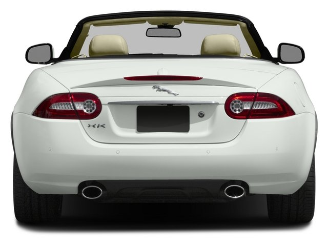 2015 Jaguar XK Prices and Values Convertible 2D V8 rear view