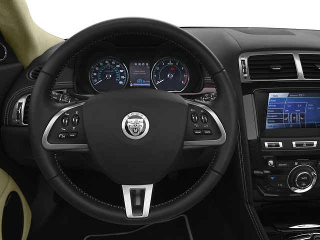 2015 Jaguar XK Prices and Values Convertible 2D V8 driver's dashboard