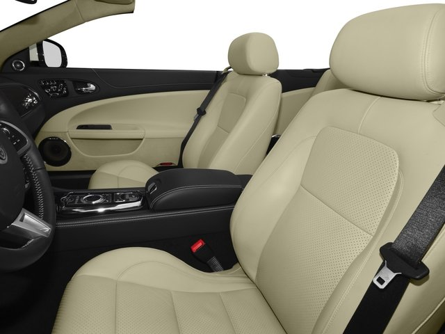 2015 Jaguar XK Prices and Values Convertible 2D V8 front seat interior