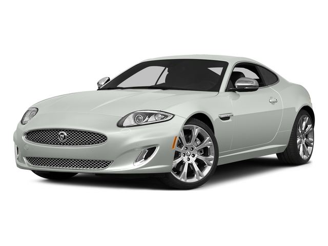 2015 Jaguar XK Prices and Values Coupe 2D V8 side front view