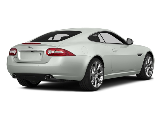 2015 Jaguar XK Prices and Values Coupe 2D V8 side rear view