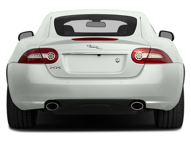 2015 Jaguar XK Prices and Values Coupe 2D V8 rear view