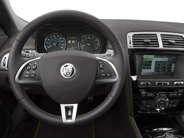 2015 Jaguar XK Prices and Values Coupe 2D V8 driver's dashboard