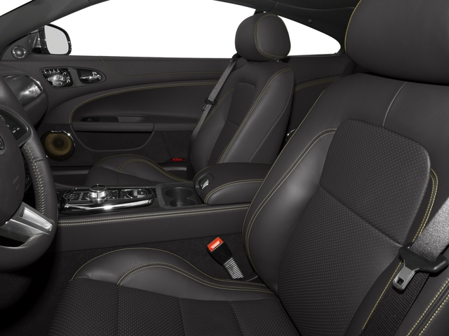 2015 Jaguar XK Prices and Values Coupe 2D V8 front seat interior