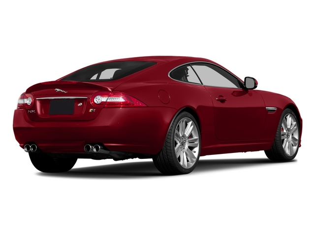 2015 Jaguar XK Prices and Values Coupe 2D XKR V8 Supercharged side rear view