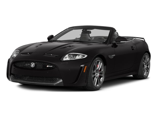 2015 Jaguar XK Prices and Values Convertible 2D XKR-S V8 Supercharged side front view