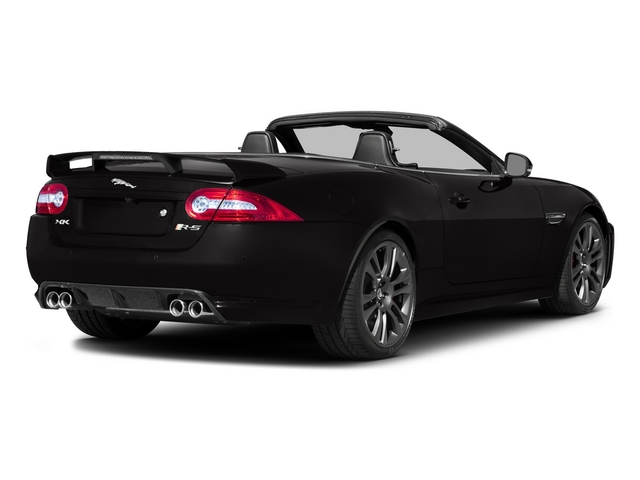 2015 Jaguar XK Prices and Values Convertible 2D XKR-S V8 Supercharged side rear view