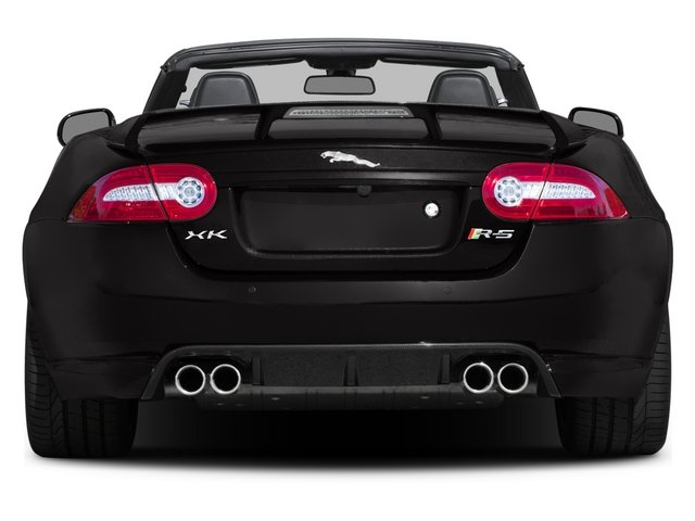 2015 Jaguar XK Prices and Values Convertible 2D XKR-S V8 Supercharged rear view
