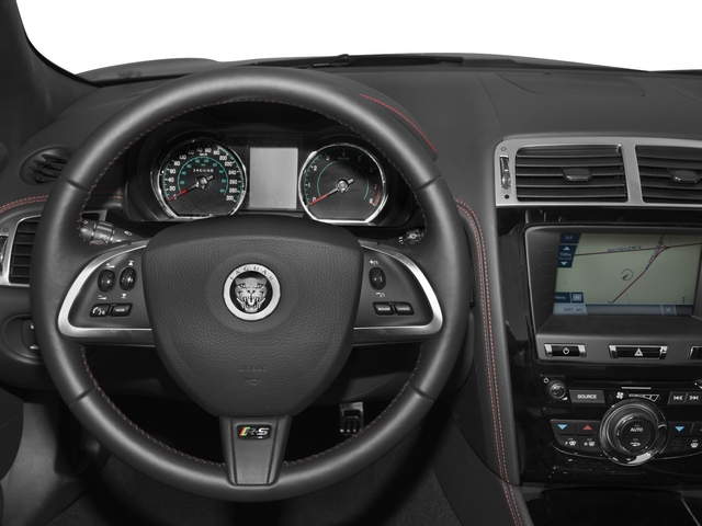 2015 Jaguar XK Prices and Values Convertible 2D XKR-S V8 Supercharged driver's dashboard