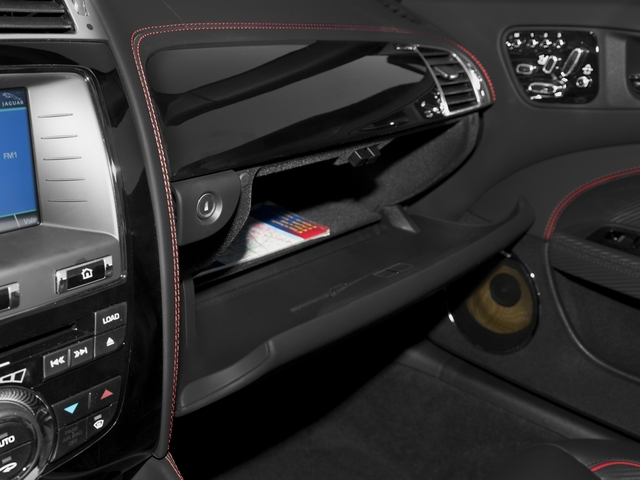 2015 Jaguar XK Prices and Values Convertible 2D XKR-S V8 Supercharged glove box