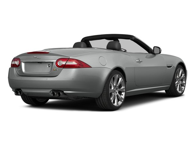 2015 Jaguar XK Prices and Values Convertible 2D XKR V8 Supercharged side rear view