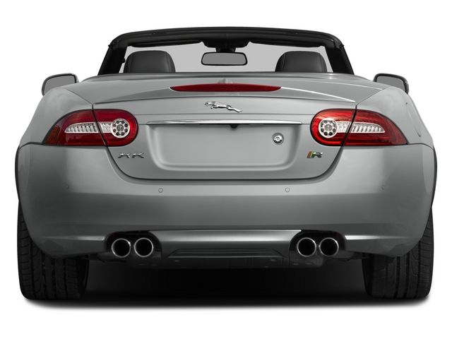 2015 Jaguar XK Prices and Values Convertible 2D XKR V8 Supercharged rear view