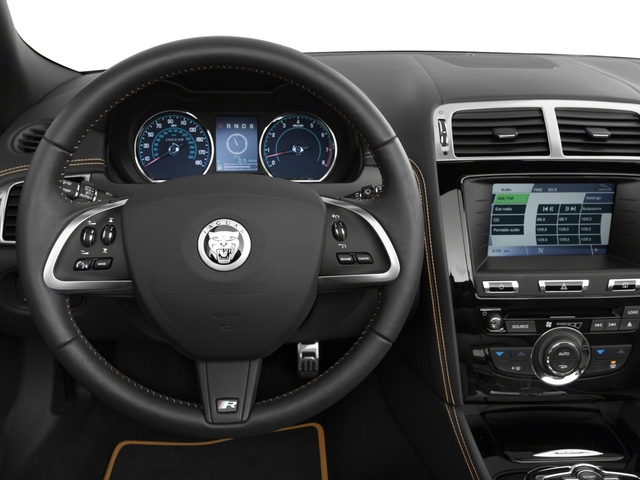 2015 Jaguar XK Prices and Values Convertible 2D XKR V8 Supercharged driver's dashboard