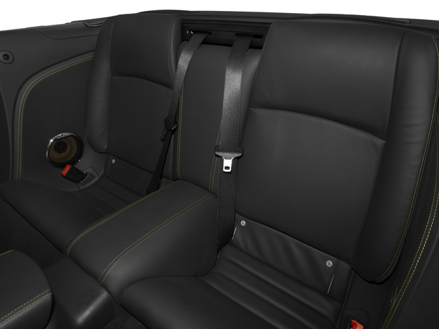 2015 Jaguar XK Prices and Values Convertible 2D XKR V8 Supercharged backseat interior