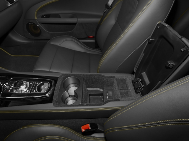 2015 Jaguar XK Prices and Values Convertible 2D XKR V8 Supercharged center storage console