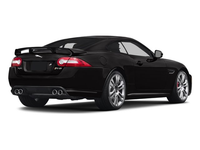 2015 Jaguar XK Prices and Values Coupe 2D XKR-S V8 Supercharged side rear view