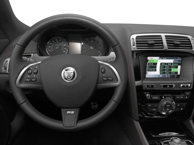 2015 Jaguar XK Prices and Values Coupe 2D XKR-S V8 Supercharged driver's dashboard