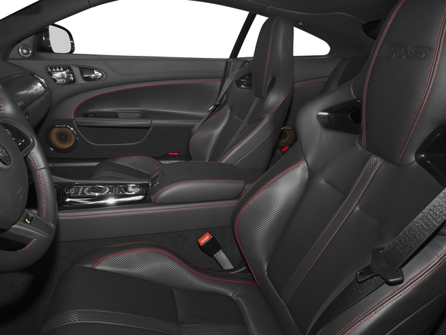 2015 Jaguar XK Prices and Values Coupe 2D XKR-S V8 Supercharged front seat interior