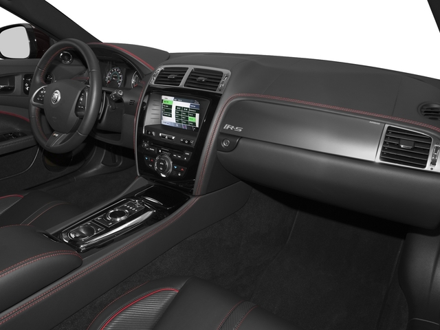 2015 Jaguar XK Prices and Values Coupe 2D XKR-S V8 Supercharged passenger's dashboard