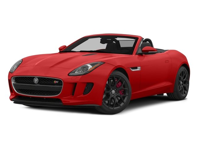2015 Jaguar F-TYPE Prices and Values Convertible 2D S V6 side front view