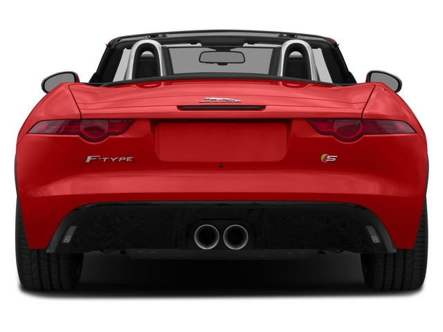 2015 Jaguar F-TYPE Prices and Values Convertible 2D S V6 rear view