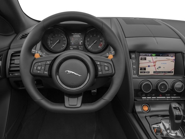 2015 Jaguar F-TYPE Prices and Values Convertible 2D S V6 driver's dashboard