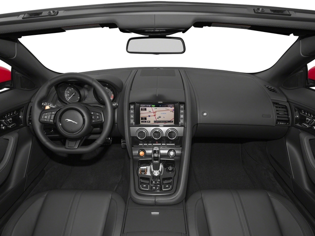 2015 Jaguar F-TYPE Prices and Values Convertible 2D S V6 full dashboard