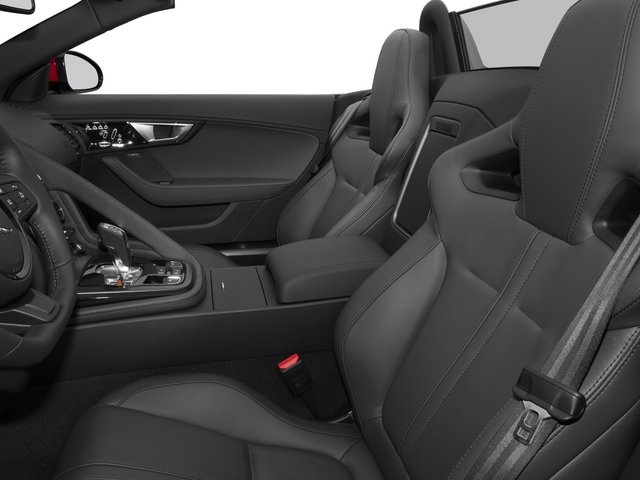 2015 Jaguar F-TYPE Prices and Values Convertible 2D S V6 front seat interior
