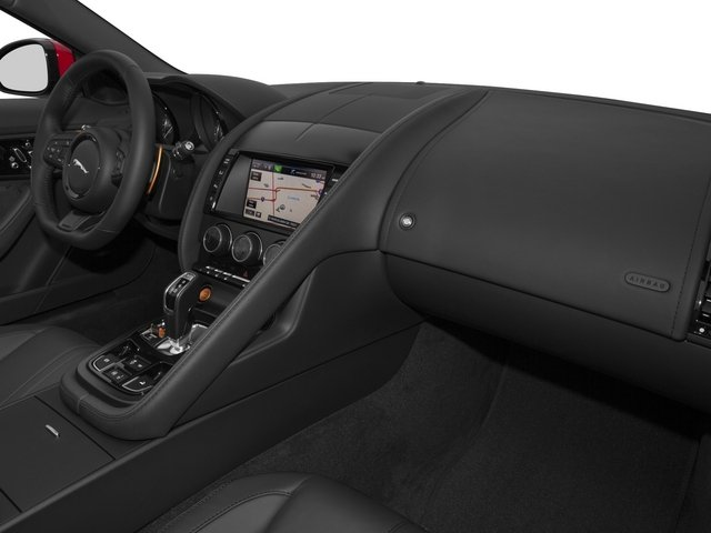 2015 Jaguar F-TYPE Prices and Values Convertible 2D S V6 passenger's dashboard