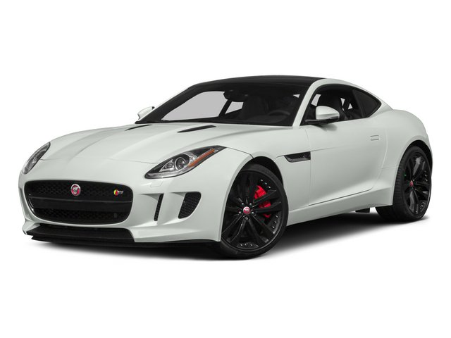 2015 Jaguar F-TYPE Pictures F-TYPE Coupe 2D R V8 photos side front view