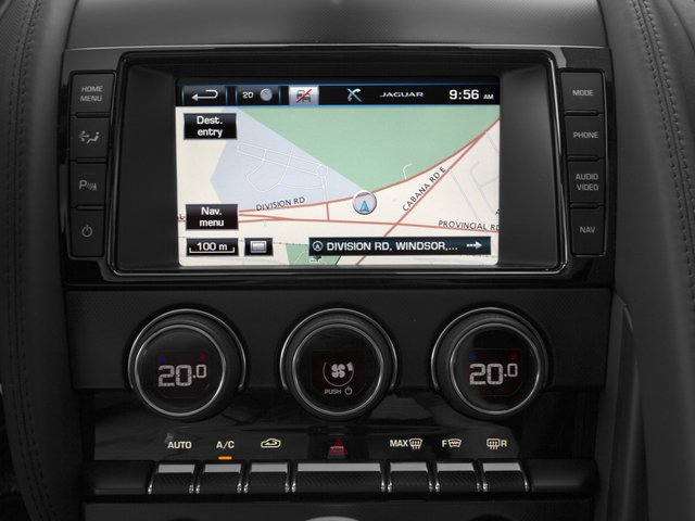 2015 Jaguar F-TYPE Pictures F-TYPE Coupe 2D R V8 photos navigation system
