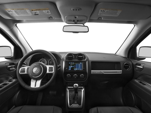 2015 Jeep Compass Prices and Values Utility 4D High Altitude 4WD full dashboard