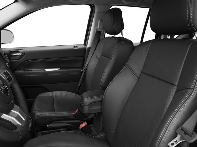 2015 Jeep Compass Prices and Values Utility 4D High Altitude 4WD front seat interior