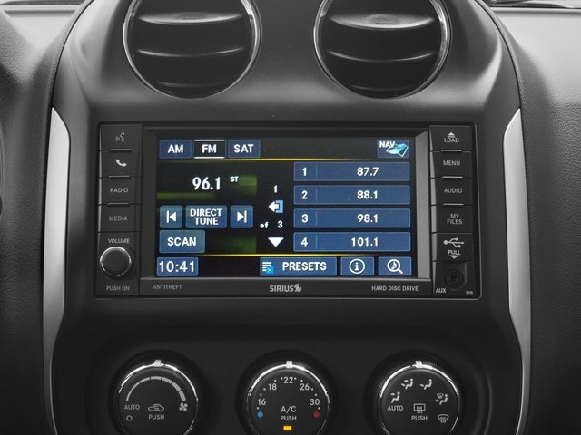 2015 Jeep Compass Prices and Values Utility 4D High Altitude 4WD stereo system