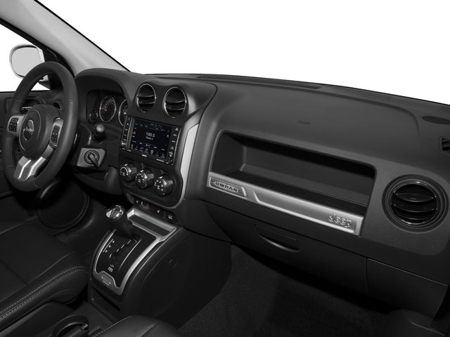 2015 Jeep Compass Prices and Values Utility 4D Latitude 4WD passenger's dashboard