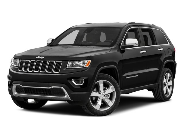 2015 Jeep Grand Cherokee Prices and Values Utility 4D Overland Diesel 2WD side front view