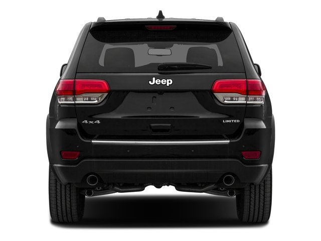 2015 Jeep Grand Cherokee Prices and Values Utility 4D Laredo 4WD rear view