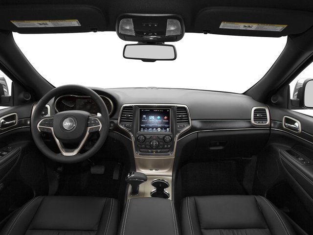 2015 Jeep Grand Cherokee Prices and Values Utility 4D Altitude 2WD full dashboard