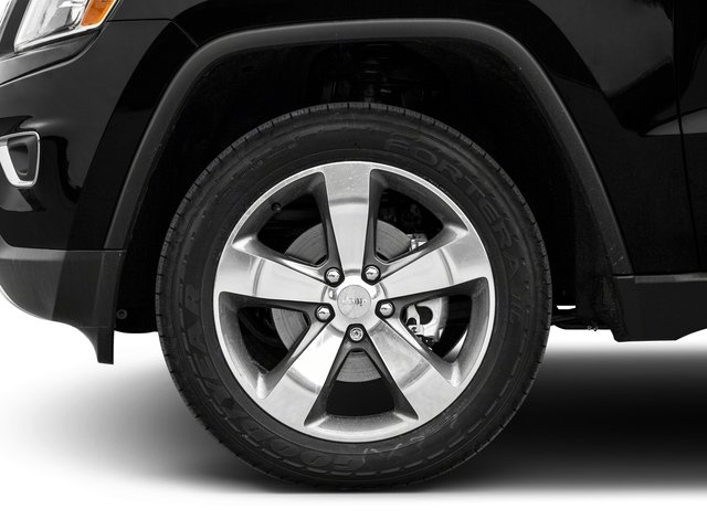 2015 Jeep Grand Cherokee Prices and Values Utility 4D Overland 2WD wheel