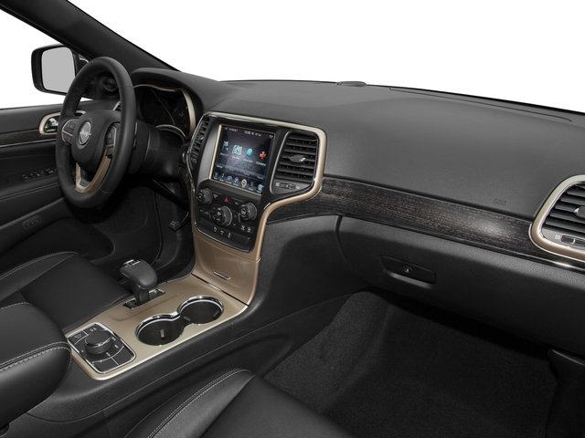 2015 Jeep Grand Cherokee Prices and Values Utility 4D Overland 2WD passenger's dashboard