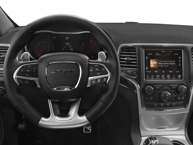 2015 Jeep Grand Cherokee Prices and Values Utility 4D SRT-8 4WD driver's dashboard