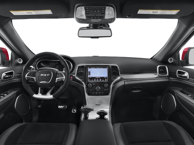 2015 Jeep Grand Cherokee Prices and Values Utility 4D SRT-8 4WD full dashboard