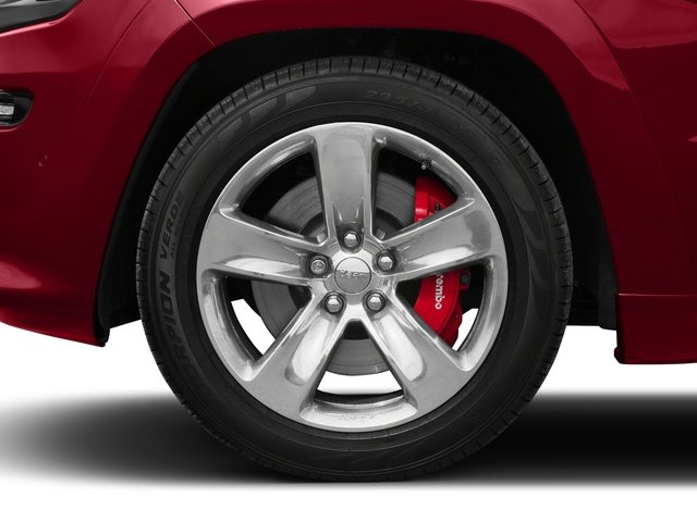2015 Jeep Grand Cherokee Prices and Values Utility 4D SRT-8 4WD wheel