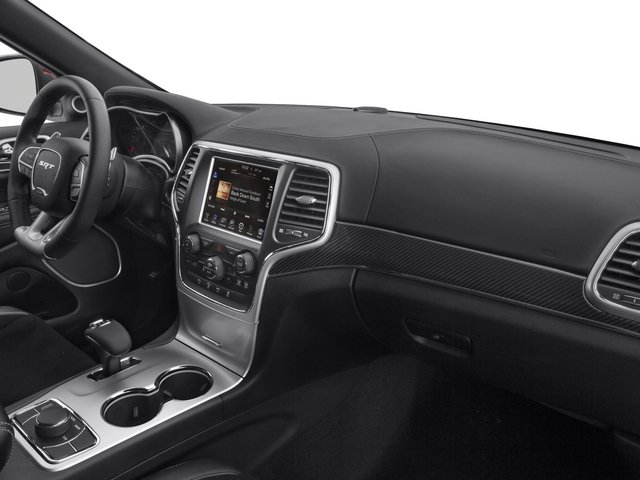 2015 Jeep Grand Cherokee Prices and Values Utility 4D SRT-8 4WD passenger's dashboard