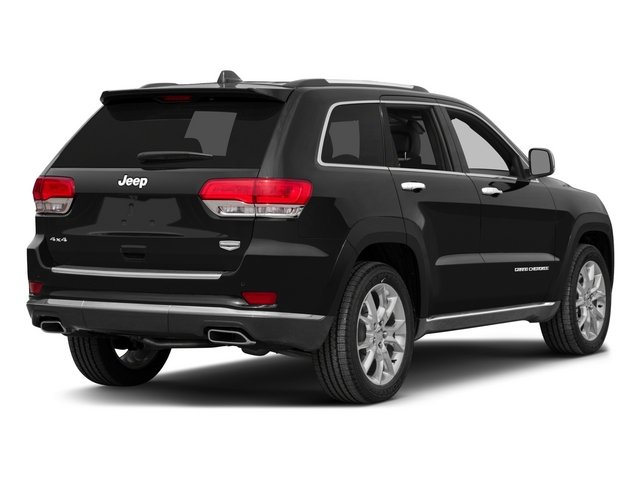 2015 Jeep Grand Cherokee Prices and Values Utility 4D Summit Diesel 4WD side rear view