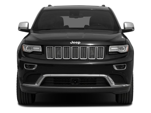 2015 Jeep Grand Cherokee Prices and Values Utility 4D Summit Diesel 4WD front view