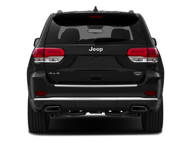 2015 Jeep Grand Cherokee Prices and Values Utility 4D Summit 2WD rear view