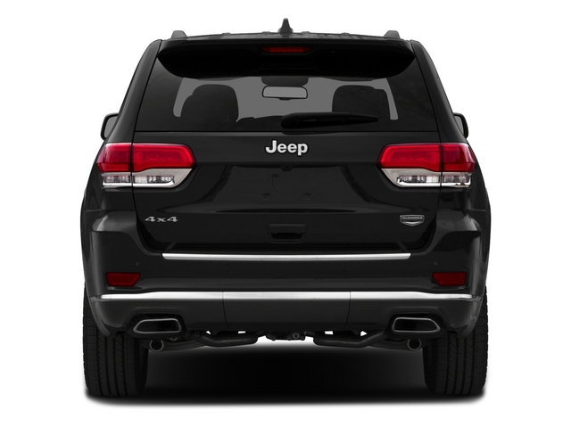 2015 Jeep Grand Cherokee Pictures Grand Cherokee Utility 4D Summit 4WD photos rear view